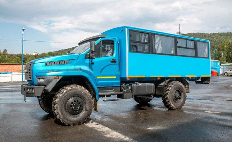 Фото: Вахтовый автобус Урал 32552-5013-71М, 20 мест