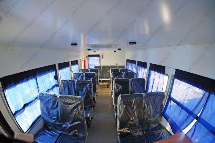 Фото: Вахтовый автобус АСВ 7721 КАМАЗ 43118-3027-46, 22 места (наличие)