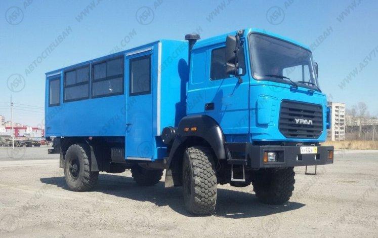Фото: Вахтовый автобус Урал 32552-3013-79М, 20 мест