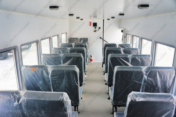 Фото: Вахтовый автобус АСВ 7721 КАМАЗ 43118-3078-46, 28 мест