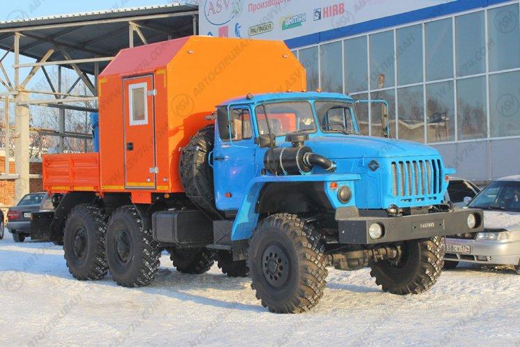 Фото: ГПА Урал 4320-1151-61 с КМУ ИМ-20