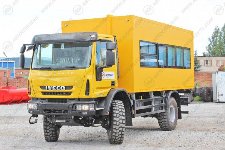 Фото: Вахтовый автобус Iveco Cargo MLC150E28WS, 22 места