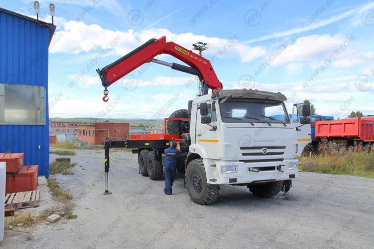 Фото: Бортовой автомобиль КАМАЗ 43118-3027-50 с КМУ ИМ-320