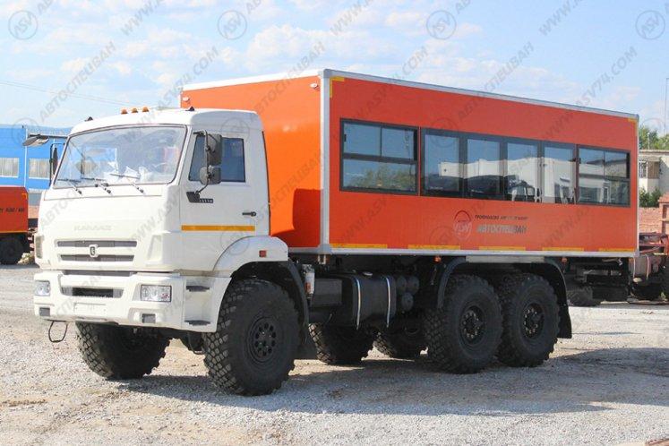 Фото: Вахтовый автобус АСВ 7721 КАМАЗ 43118-3027-46, 28 мест (наличие)