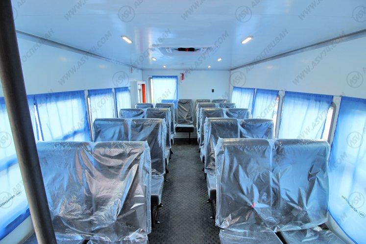 Фото: Вахтовый автобус УРАЛ 4320-1112-41, 22 места