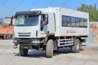Фото: 22 места, Iveco Cargo MLL150E28WS со спальником, Автобус вахтовый