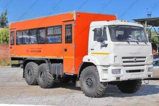 Фото: Автобус вахтовый 28 мест КАМАЗ 43118-3027-46