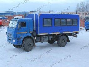 Фото: Вахтовый автобус КАМАЗ 43502-3030-14
