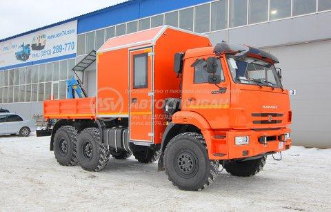 ГПА КамАЗ 43118-3027-50 с КМУ ИМ-20