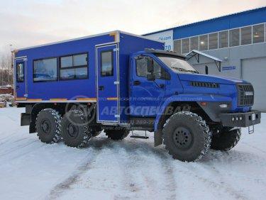 фото: Вахтовый автобус Урал NEXT4320-6151-73 (Е5), 20 мест