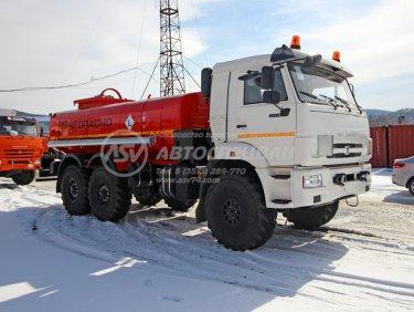 фото: Автотопливозаправщик АТЗ-10 КАМАЗ 43118 (в наличии)