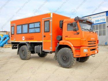 фото: Вахтовый автобус АСВ 7721Т3-00 КАМАЗ 43502-3036-66, 20 мест