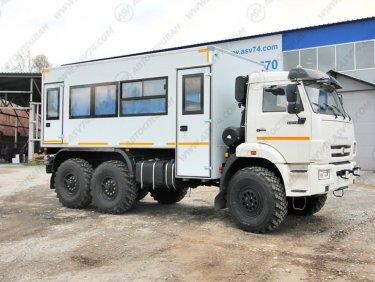фото: Вахтовый автобус АСВ 7721 КАМАЗ 43118-3027-50, 20 мест