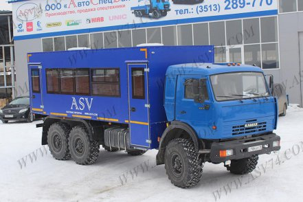 фото: Вахтовый автобус LUXE КАМАЗ-43118, 26 мест