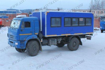 фото: Вахтовый автобус АСВ 7721 LUXE КАМАЗ 43502-3030-14, 20 мест
