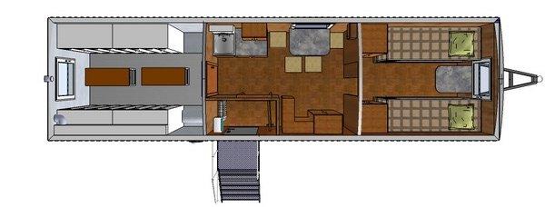 Фото: Вагон-дом БАШКИРИЯ-9ВБСШ с сушильными шкафами