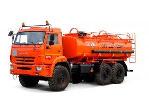 Фото: Автоцистерна для светлых ГСМ (бензовоз) АЦ-12 КАМАЗ-43118