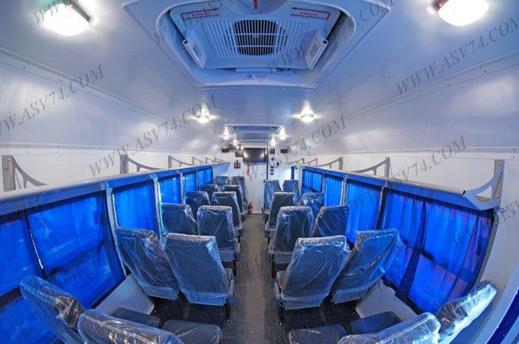 Фото: Вахтовый автобус АСВ 7721 LUXE КАМАЗ 43118-3078-46, 24 места