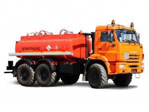 Фото: Автоцистерна для светлых ГСМ (бензовоз) АЦ-7,5 КАМАЗ-5350