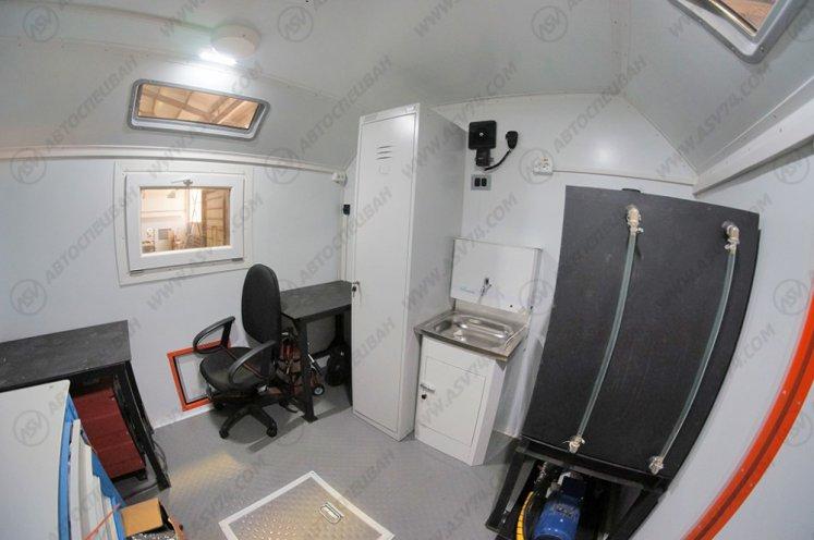 Фото: Агрегат ремонта и обслуживания качалок КАМАЗ 43118-3027-46 с КМУ ИМ-50