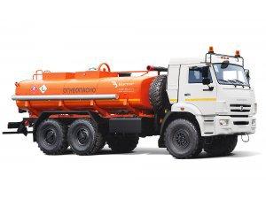 Фото: Автоцистерна для светлых ГСМ (бензовоз) АЦ-10 КАМАЗ-43118