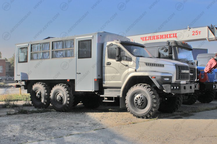 Фото: Вахтовый автобус Урал 32551-5013-71М, 20 мест