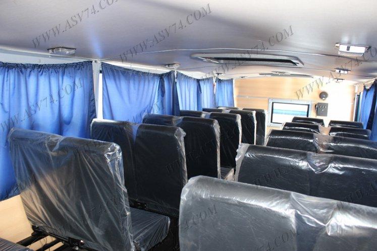 Фото: Вахтовый автобус Урал 3255-0013-61-28М, 28 мест