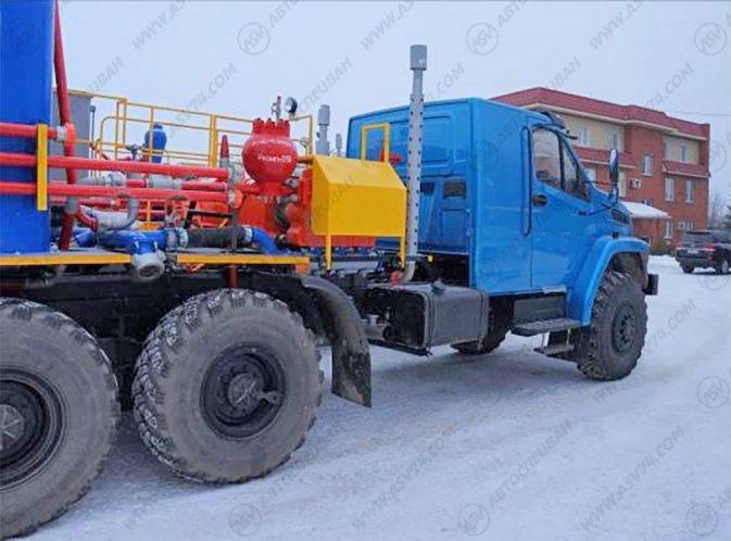 Фото: Агрегат цементировочный (СИН-35) на Шасси Урал Next 4320-72Е5