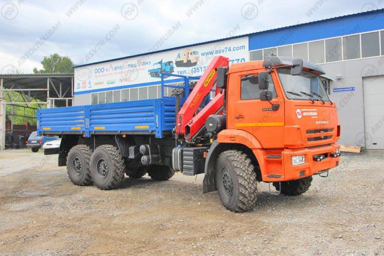 Фото: Бортовой автомобиль КАМАЗ 43118-3011-50 с КМУ Palfinger 10000