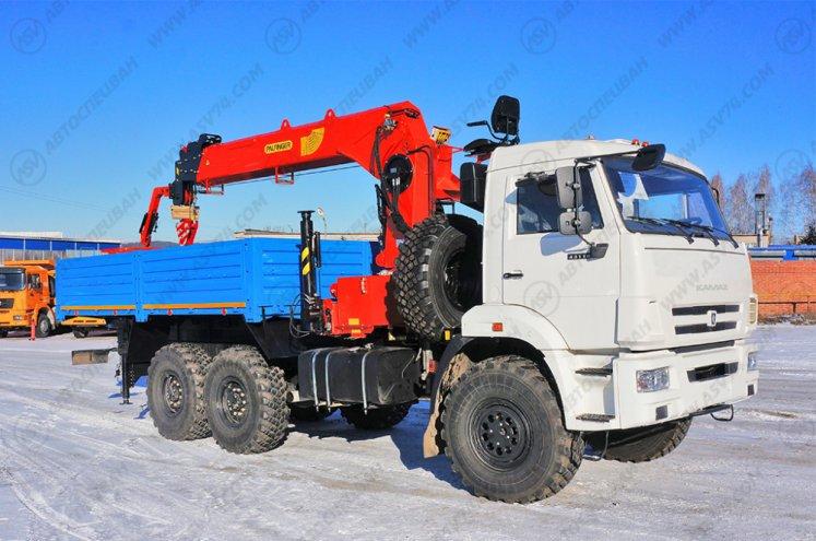 Фото: Бортовой автомобиль КАМАЗ 43118-3090-46 с КМУ ИТ-150 (тросовый)