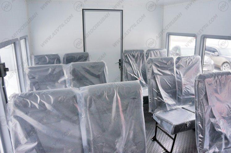 Фото: Вахтовый автобус АСВ 7721 с грузовым отсеком КАМАЗ 43502-3026-45, 14 мест