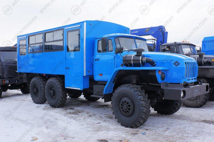 Фото: Вахтовый автобус Урал 32551-0013-61М, 20 мест