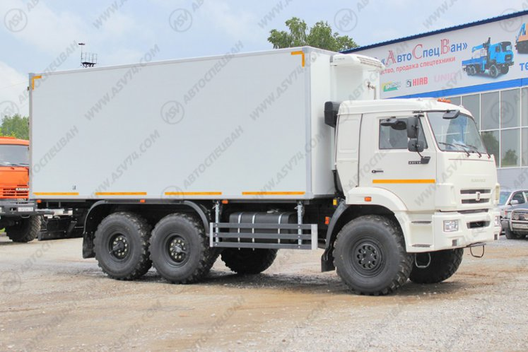 Фото: Изотермический фургон КАМАЗ 43118-3078-46 c ХОУ