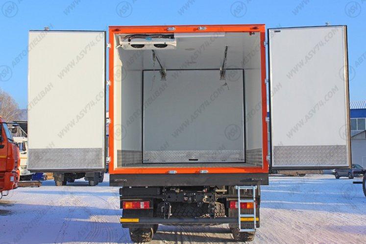 Фото: Рефрижератор КамАЗ 43118 с мультитемпературной перегородкой и ХОУ Thermo King