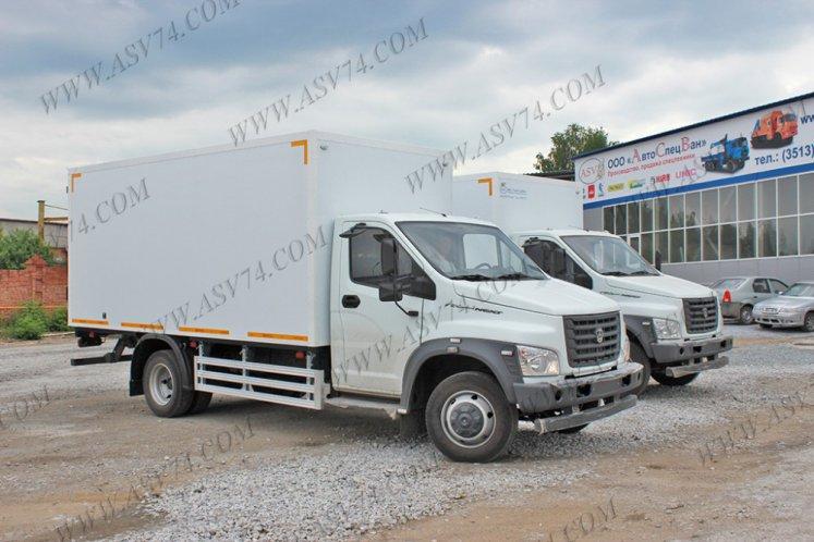 Фото: Изотермический фургон ГАЗ-C41R33