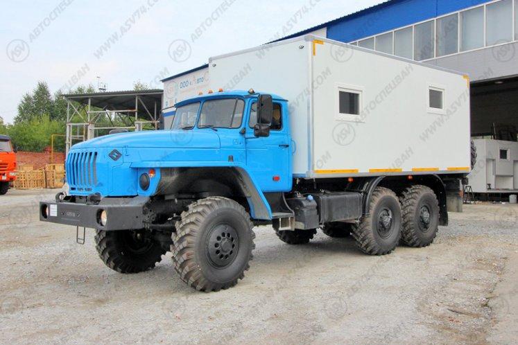 Фото: Транспортно-бытовой автомобиль Урал 4320-1151-61 (Е5)