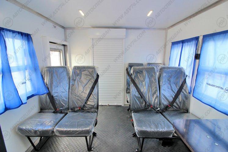 Фото: Вахтовый автобус с грузовым отсеком, Урал 4320-1912-72Е5, 8 мест