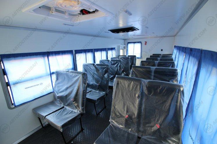 Фото: Вахтовый автобус КАМАЗ 43502-3036-66, 24 места