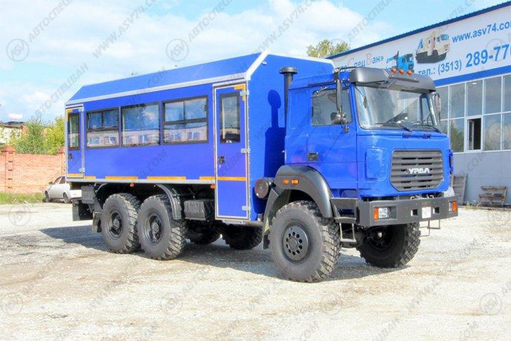Фото: Вахтовый автобус Урал 4320-4151-81М, 24 места