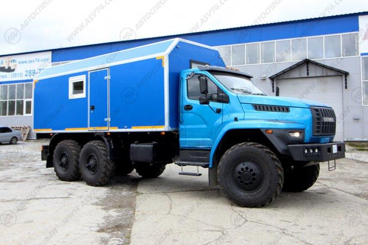 Фото: Транспортно-бытовой автомобиль ТБМ Урал NEXT 4320-6952-72(Е5)