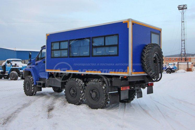 Фото: Вахтовый автобус Урал NEXT 4320-6151-73 (Е5), 20 мест