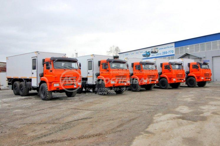 Фото: ГПА КамАЗ 43118-3027-50 с крытым грузовым отсеком