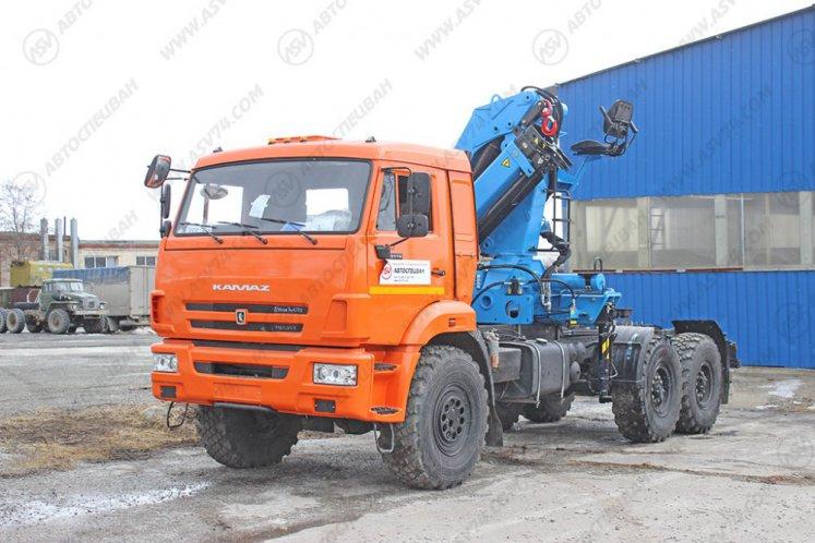Фото: Седельный тягач КАМАЗ 43118-46 (53504-46) с КМУ ИМ-240