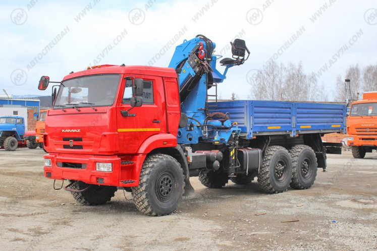 Фото: Бортовой автомобиль КАМАЗ 43118-3027-46 с КМУ ИМ-240
