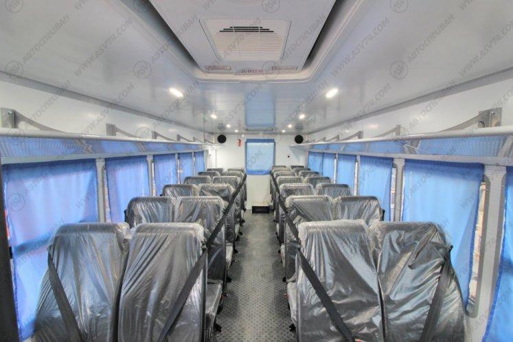 Фото: Вахтовый автобус АСВ 7721 КАМАЗ 43118-3027-46, 28 мест