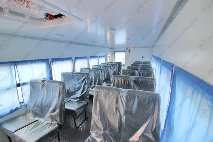 Фото: Вахтовый автобус Урал NEXT 4320-6952-72 (Е5) Г38, 28 мест