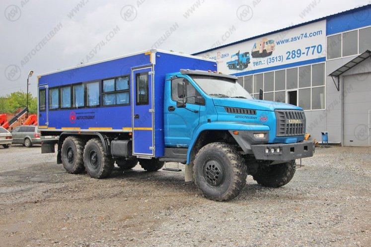 Фото: Вахтовый автобус АСВ 7721 Урал NEXT4320-6952-72 (Е5) Г38, 28 мест