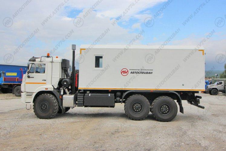 Фото: Автомобиль для взрывчатых веществ КамАЗ-43118-3027-50