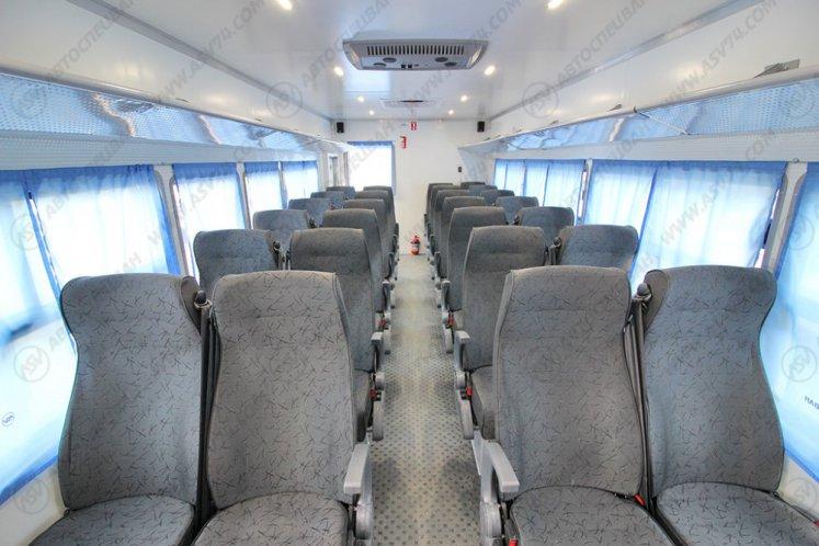 Фото: Вахтовый автобус LUXE КАМАЗ-43118, 28 мест