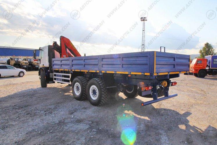 Фото: Бортовой автомобиль IVECO EuroCargo MLL210E28WS с КМУ Palfinger 15500